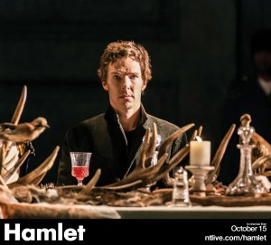 1. Hamlet (Benedict Cumberbatch). Photo by Johan Persson.